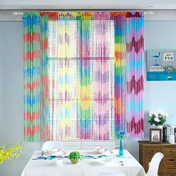 Amazon Mapleleaf String 100cmx200cm Curtains Patio Door Fly
