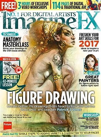 Amazon Com Imaginefx Sci Fi Fantasy Art Magazine Kindle