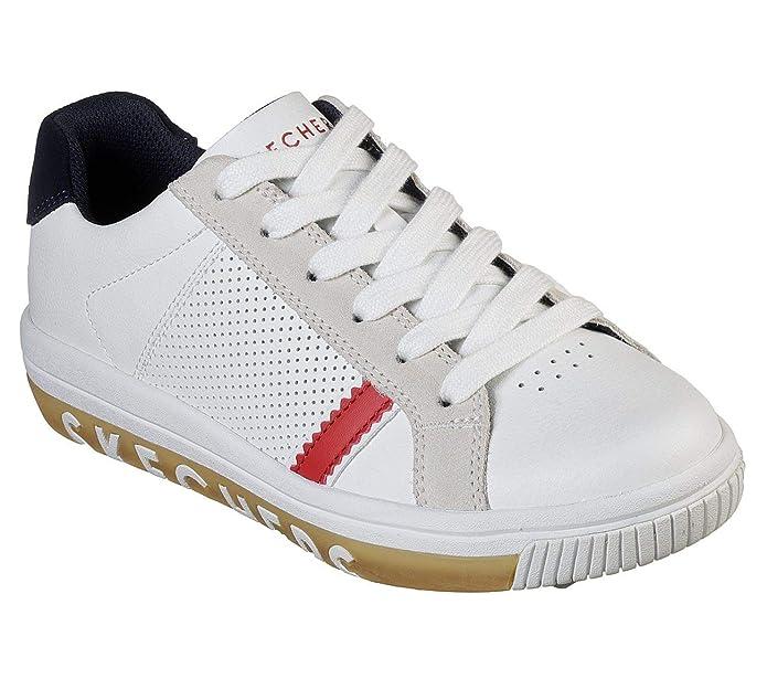 Skechers Navy Stand On It Street Sweet 2.0 Leather Sneaker Women