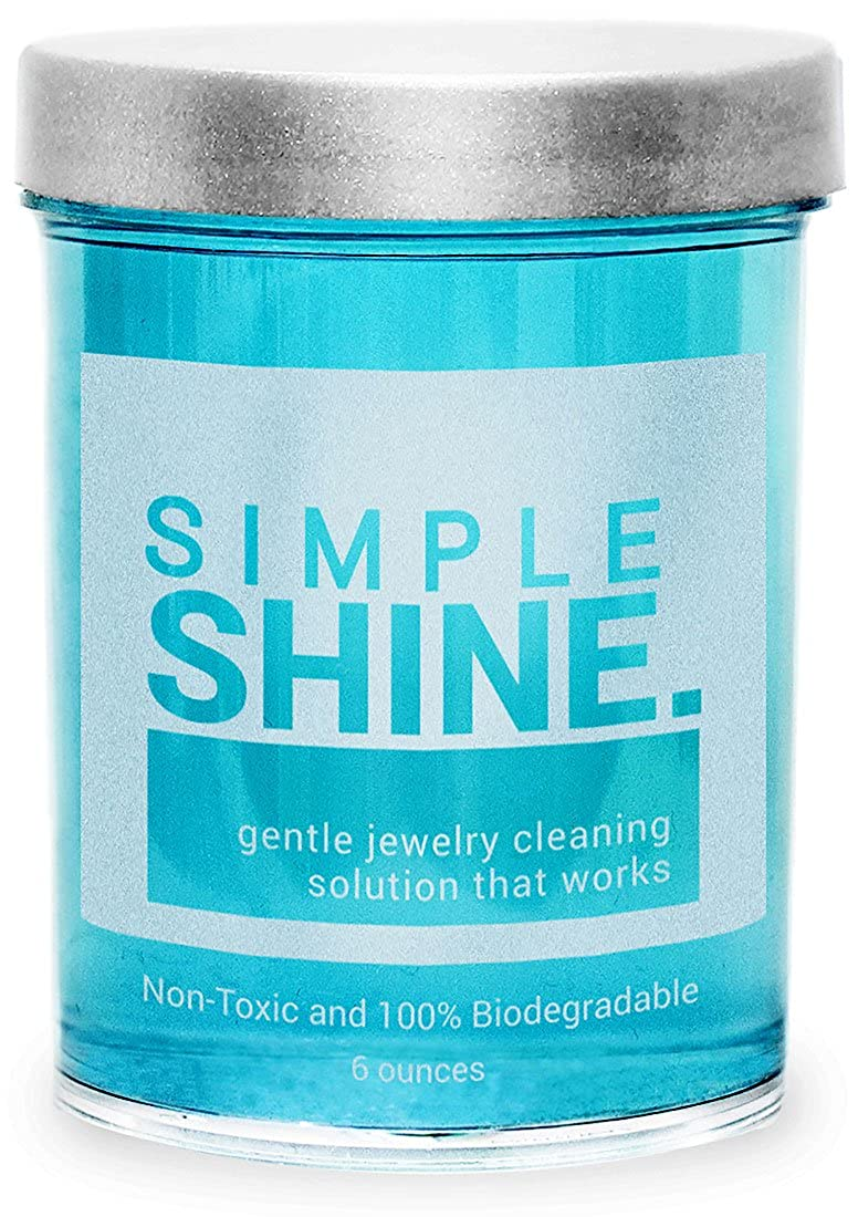 Amazon.com: Gentle Jewelry Cleaner Solution | Gold, Silver, Fine ...