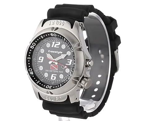 Amazon.com: Freestyle Mens 101947 Hammer Hear Analog Display Japanese Quartz Black Watch: Freestyle: Watches