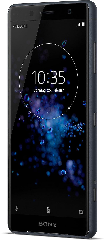 Sony Xperia XZ2Compact Smartphone (12,7cm (5pulgadas) pantalla IPS Full HD +, 64GB de memoria interna y memoria RAM de 4GB) negro [Versión alemana: Podría presentar problemas de compatibilidad]