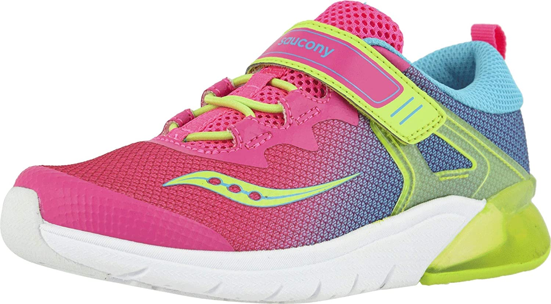 Saucony Unisex-Child Flash Glow a/C Sneaker