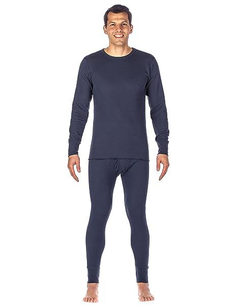 Noble Mount Frío Extremo Conjunto Intimo Térmico para Hombre - Azul Obscuro -XL