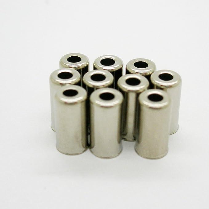 10x Topes para Funda de 5 mm para Cable Transmision Bicicleta y ...