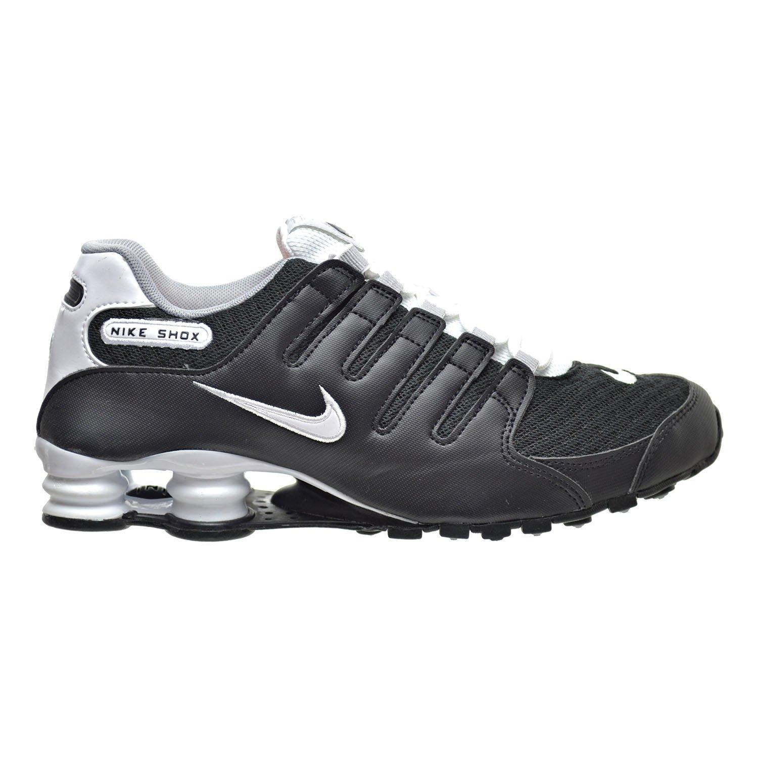 9930d138cdf9fb Provide Nike Shox NZ SE Men Shoes Black White Wolf Grey Shoes Black White