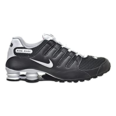 Nike Shox NZ SE Men's Shoes Black/White/Wolf Grey 833579-002 (
