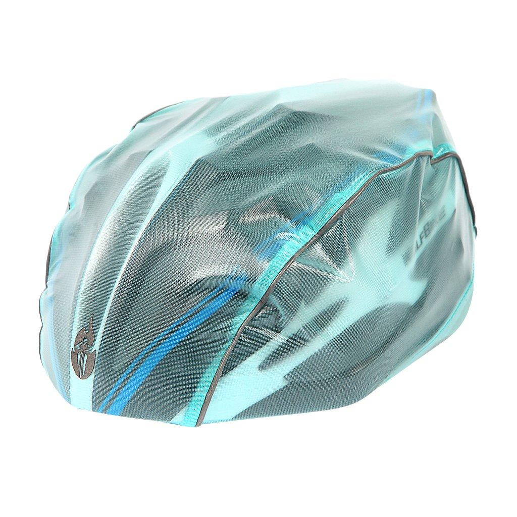 Sharplace Casque De Vélo Casque De Vélo Casque Imperméable Casque De Moto Unisexe - Bleu