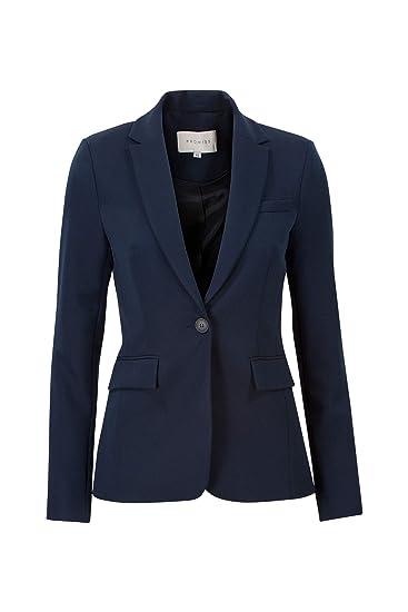 Promiss - Chaqueta de Traje - Blazer - Liso - para Mujer Azul ...
