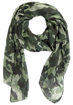 Schuhe für billige Brandneu toller Wert Lovely Lauri Military Halstuch Camouflage Seide Baumwolle Unisex