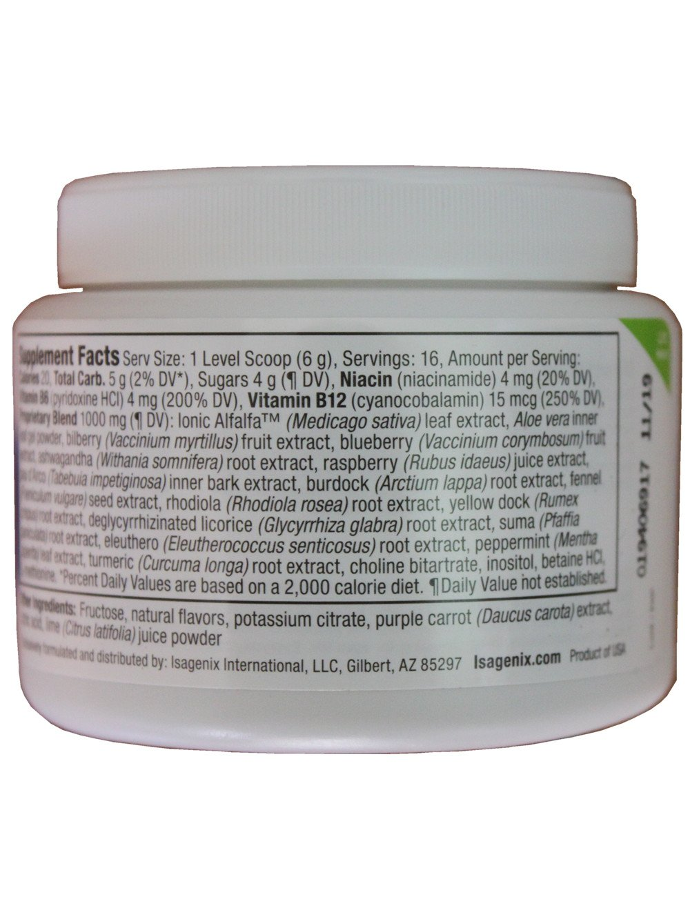 Isagenix- Cleanse For Life ® - Natural Rich Berry Powder by Isagenix (Image #2)