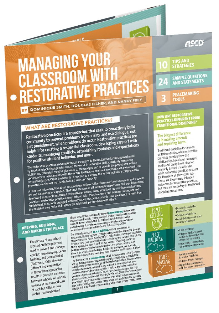 Managing Your Classroom with Restorative Practices (Quick ...
