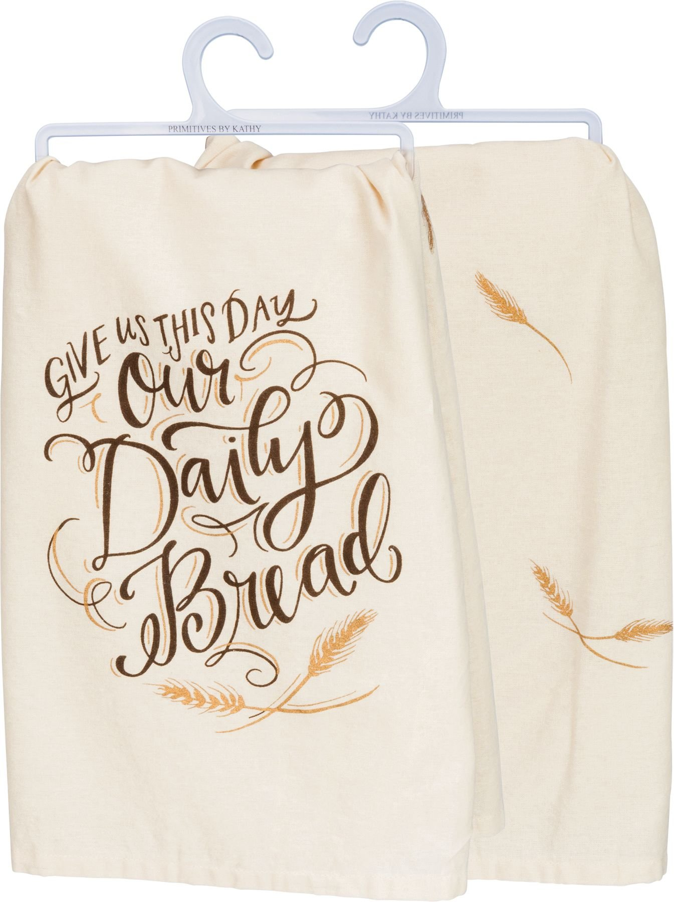 Primitives by Kathy Our Daily Bread Dish Towel