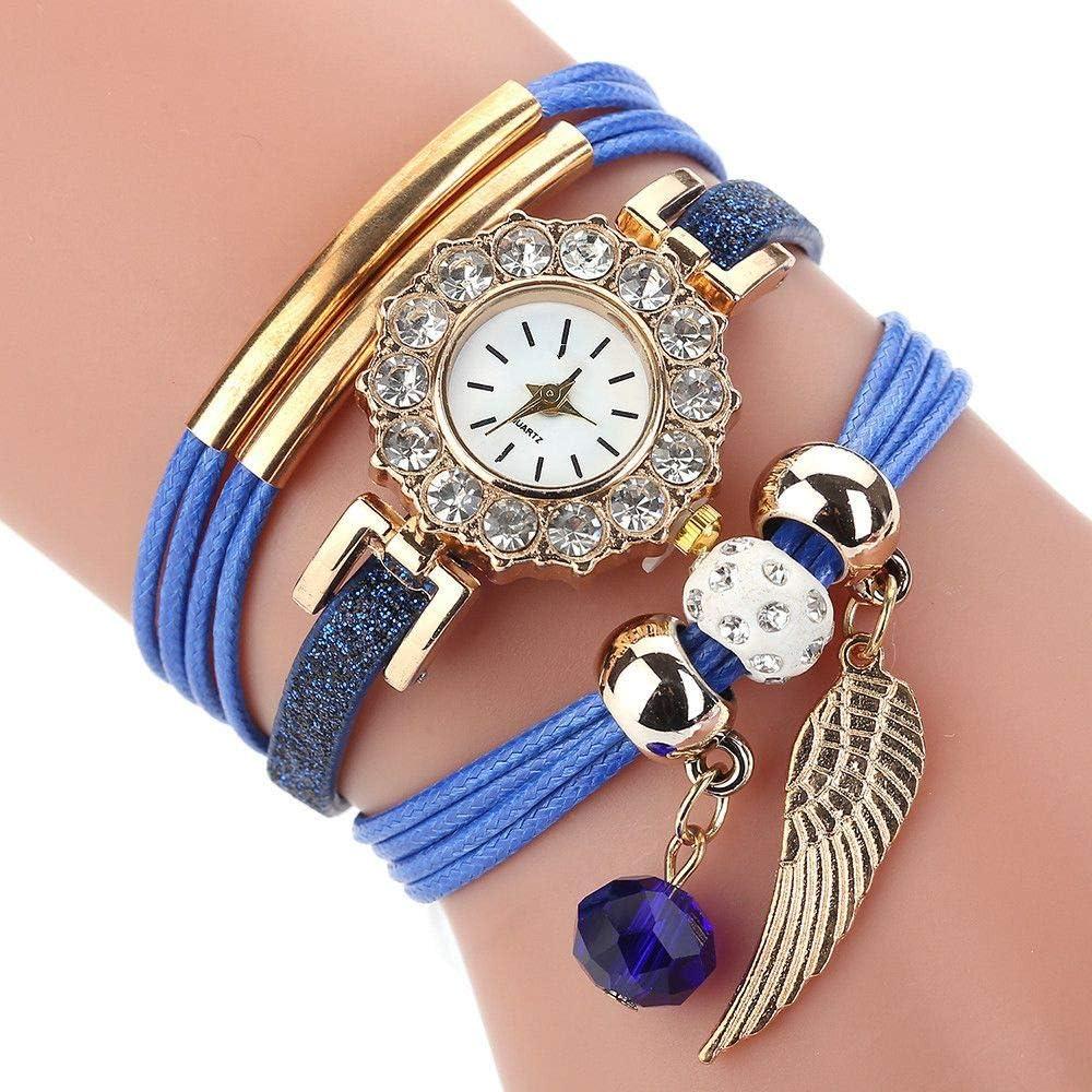HZBIOK Reloj Mujer Nuevos Relojes Mujer Flor Popular Reloj De Cuarzo Pulsera Vestido De Las Mujeres Dama De Regalo Flor De Piedras Preciosas Reloj De Pulsera