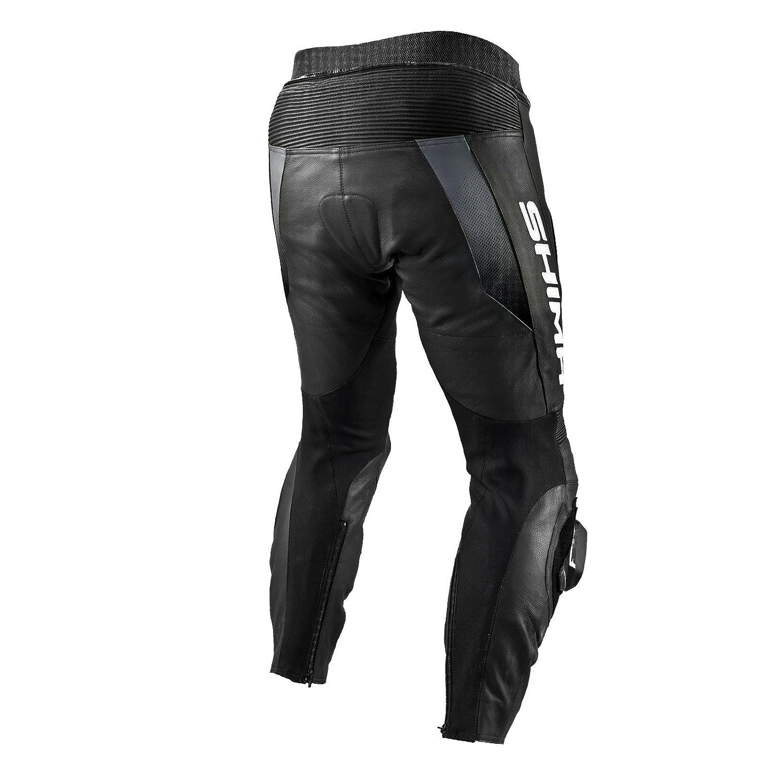 Rouge SHIMA STR TROUSERS RED Taille: 46-56 Moto Courses Perfor/é Sport Costume de moto en cuir la pantalon