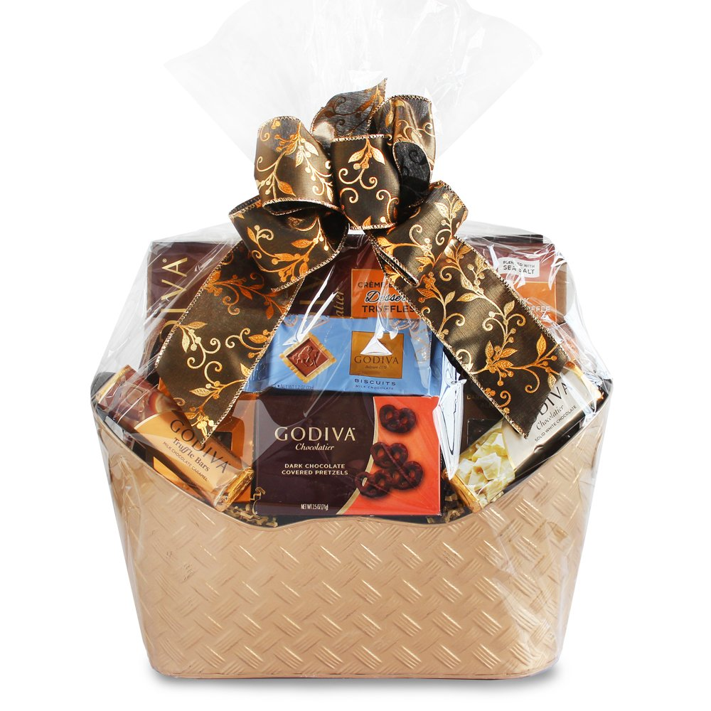 Majestic Godiva Chocolate Gift Basket by California Delicious