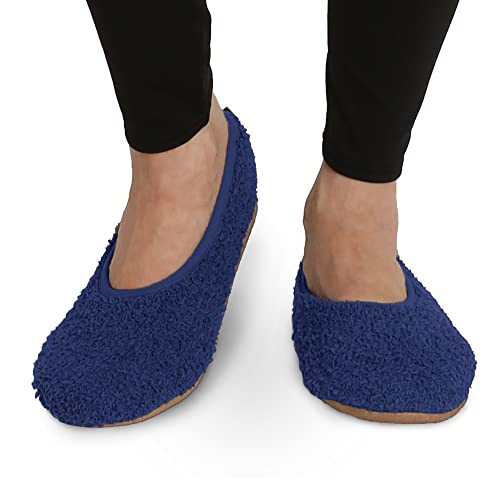 amazon com pembrook super soft slippers ballet style and non