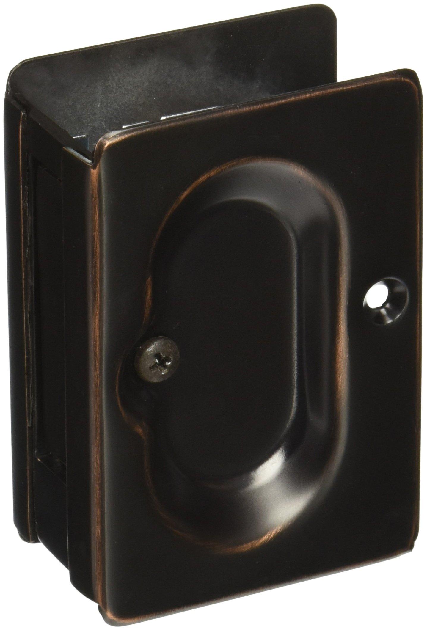 Emtek 2101 Oil Rubbed Bronze Pocket Door Lock Emte