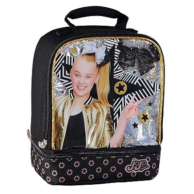 "9.5"" Jojo Siwa Double Compartment Lunch Bag: Beauty"