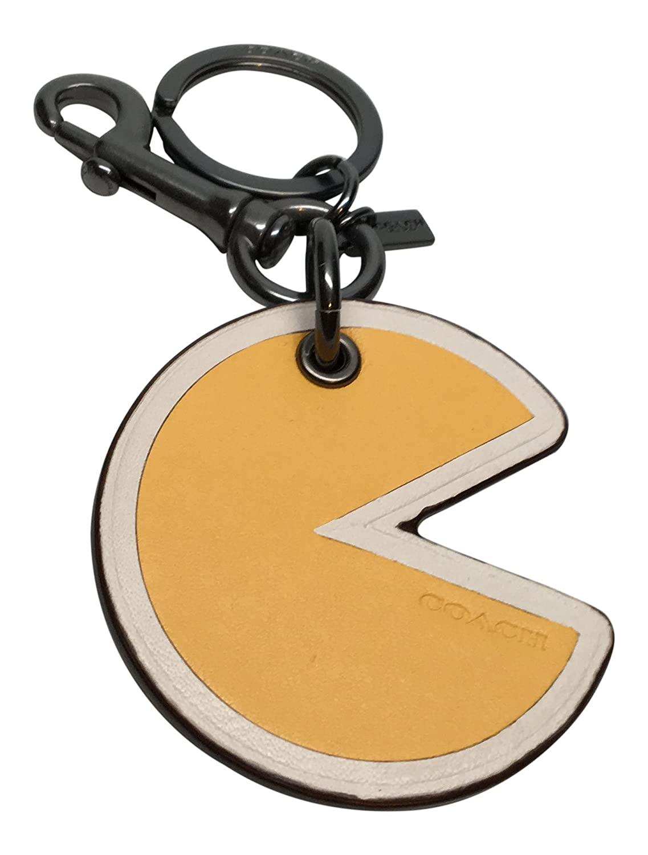 Coach Pac-Man llavero edición limitada bolso amarillo f56751 ...