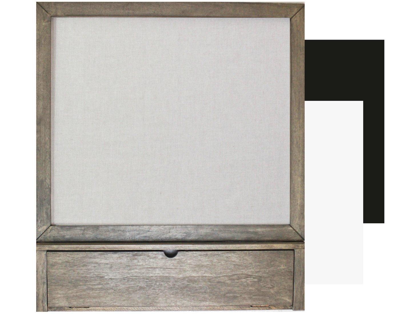 Signature Chart à la Carte Magnetic Pin Board (Driftwood)