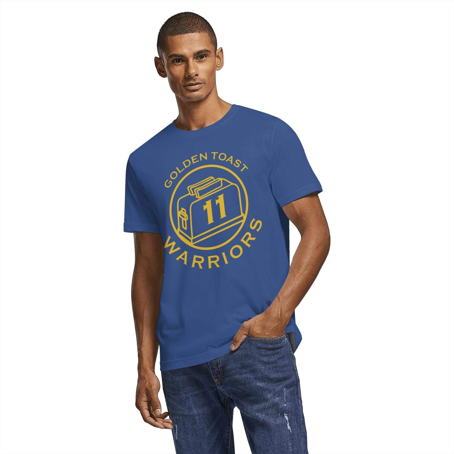 Just Hiker Mens Cool Basketball Players Design Fans Short T-Shirts Athletic Clothes Cotton