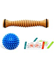 Body Back Company Foot Roller and Porcupine Ball, 1-Count