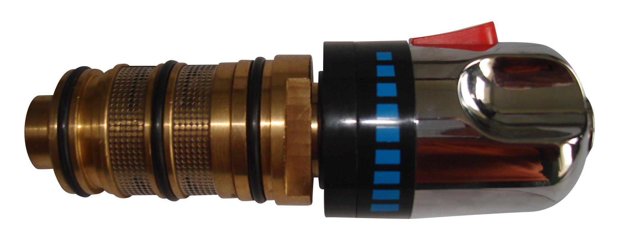 Thermostatic Bath Mixer Tap Taps Shower Valve Repair Cartridge Kit /& Handles