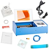 """Orion Motor Tech 12""""x 8"""" 40W CO2 Laser Engraving Machine Engraver Cutter with Exhaust Fan USB Port"""