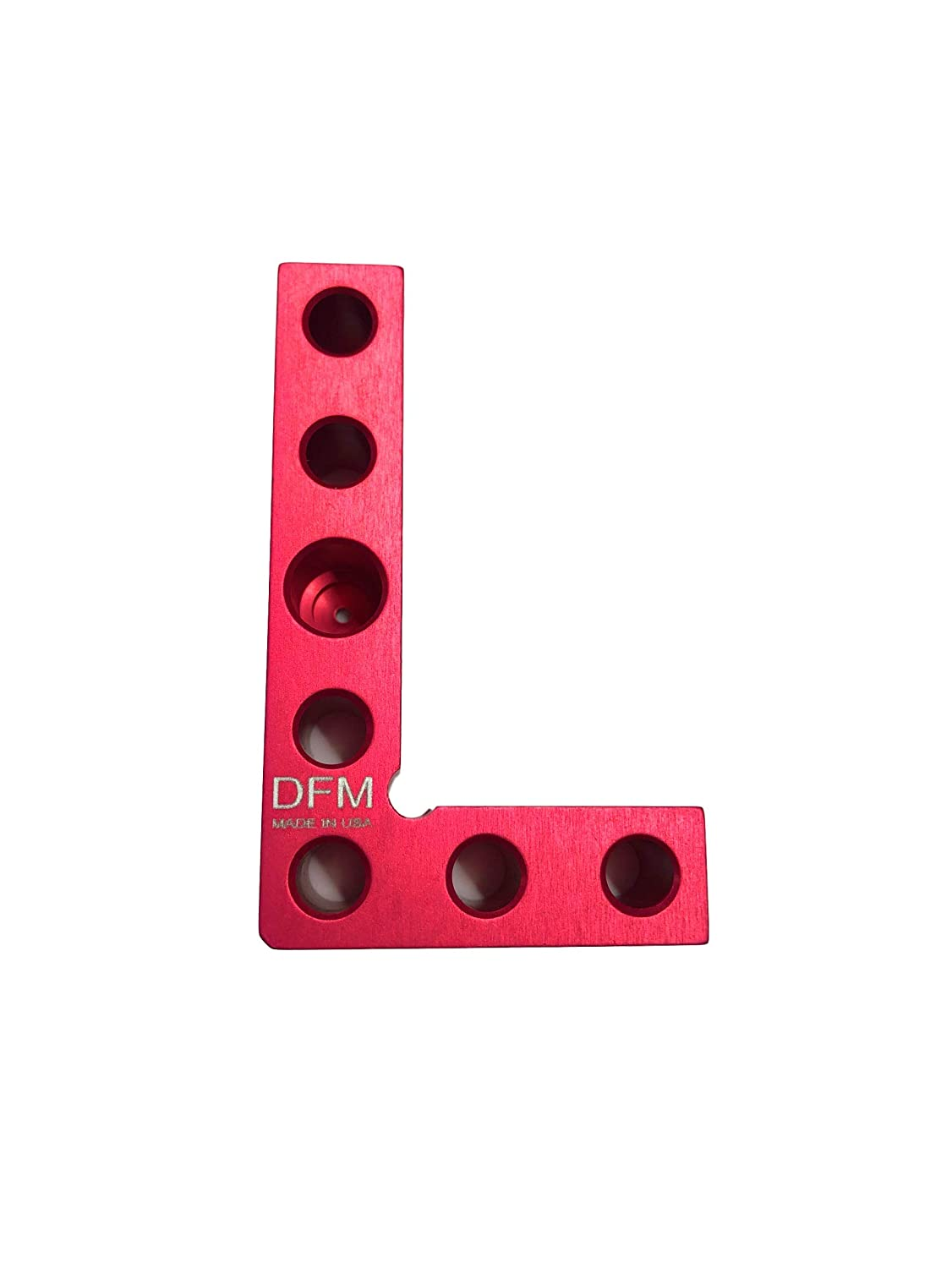 Blue DFM Small Square and Marking Center Finder Precision MADE IN USA