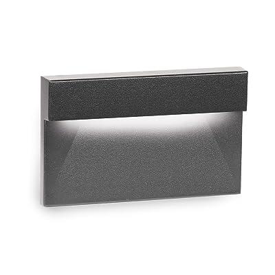 WAC Lighting WL-LED140-C-BK LED Horizontal Ledge Step and Wall Light 120V 3000K, Black: Home Improvement
