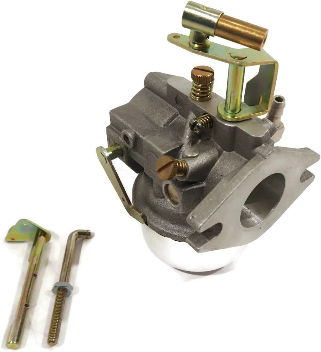 The ROP Shop Carburetor w/ 2 Choke Levers fits Kohler K241 K301 Cast Iron 10 12 HP K-Seriesby
