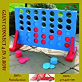 GardMax 4 IN A ROW GIANT CONNECT GARDEN OUTDOOR GAME KIDS ADULTS FAMILY PARTY