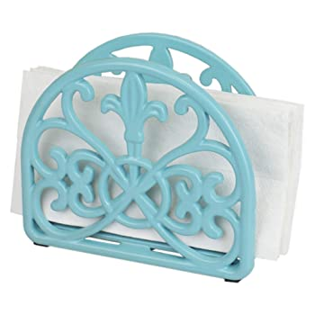Home Basics Cast Iron Paper Napkin Holder