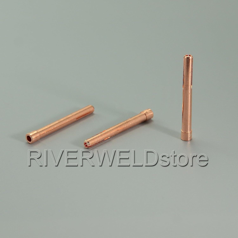 TIG Gas Lens Collets Body Back Cap Alumina Nozzle Kit Fit QQ300 DB PTA SR WP CK 17 18 26 TIG Welding Torch 9pcs
