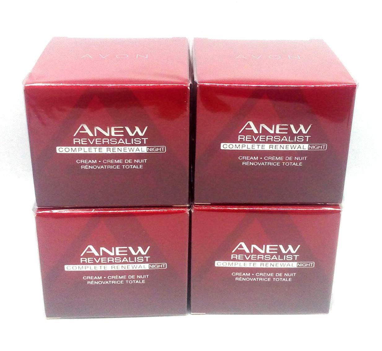 4 x AVON Anew Reversalist Complete Renewal Night Cream 50ml - 1.7oz SET ! RW-US-AVON-135
