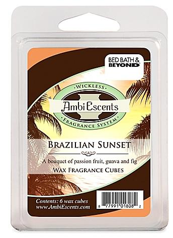 Brazilian Sunset Fragrance Cubes - BedBathandBeyond.com