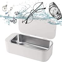 Ultrasonic Cleaner, Ultrasonic Jewelry Cleaner, Personal Professional 42kHz with 3 Minutes Cleaning Silver/Jewelry…