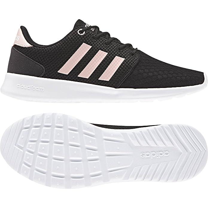 promo code 69170 40d62 adidas Womens Cloufoam Qt Racer W LMT Running Shoes Amazon.co.uk Shoes   Bags