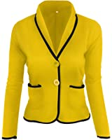David Salc womens work jacket office blazers for women blazer chaquetas blazer women plus size picture