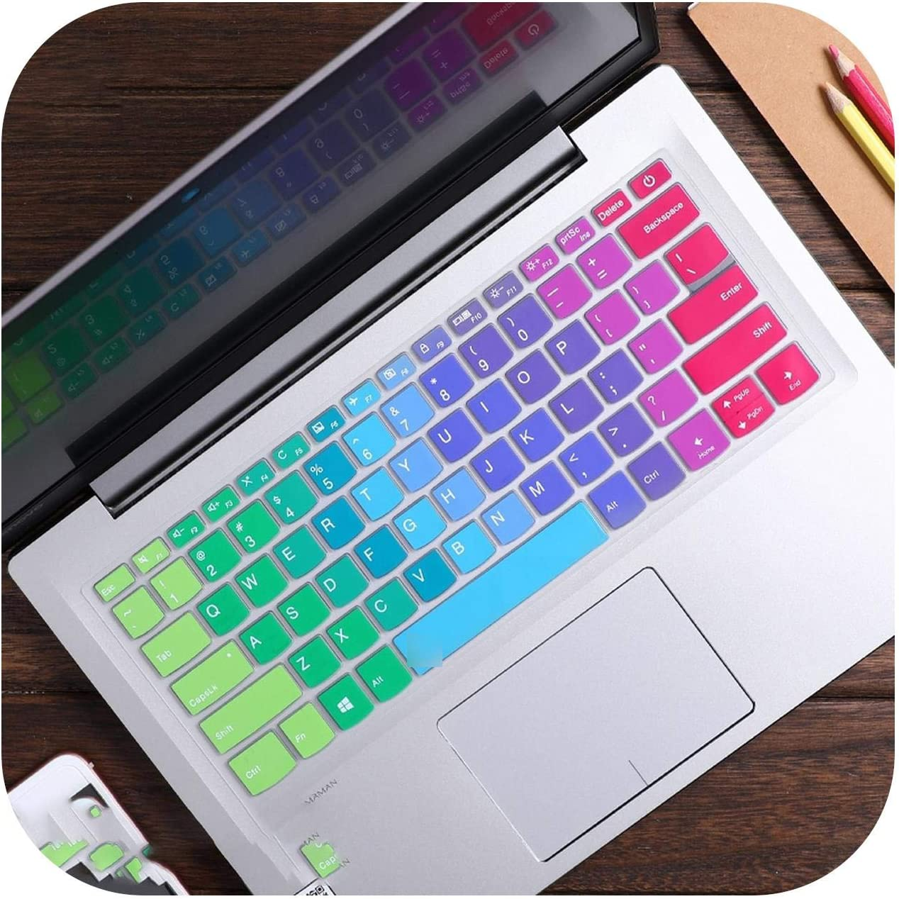Silicone Laptop Keyboard Protector Keyboard Cover Skin for Lenovo 13.3