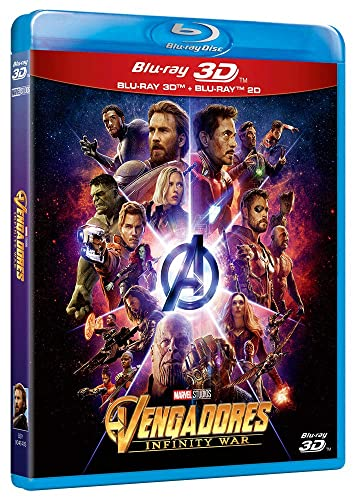 Vengadores Infinity War (BD 3D+2D) + Bonus [Blu-ray]: Amazon.es ...