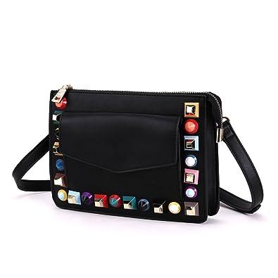 fc1b8a8c379a Amazon.com: MUSAA Unique PU Leather Handbags, Female Totes,Women ...