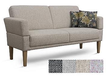 Cavadore 3er Sofa Femarn / Küchensofa für Küche, Esszimmer / Couch ...