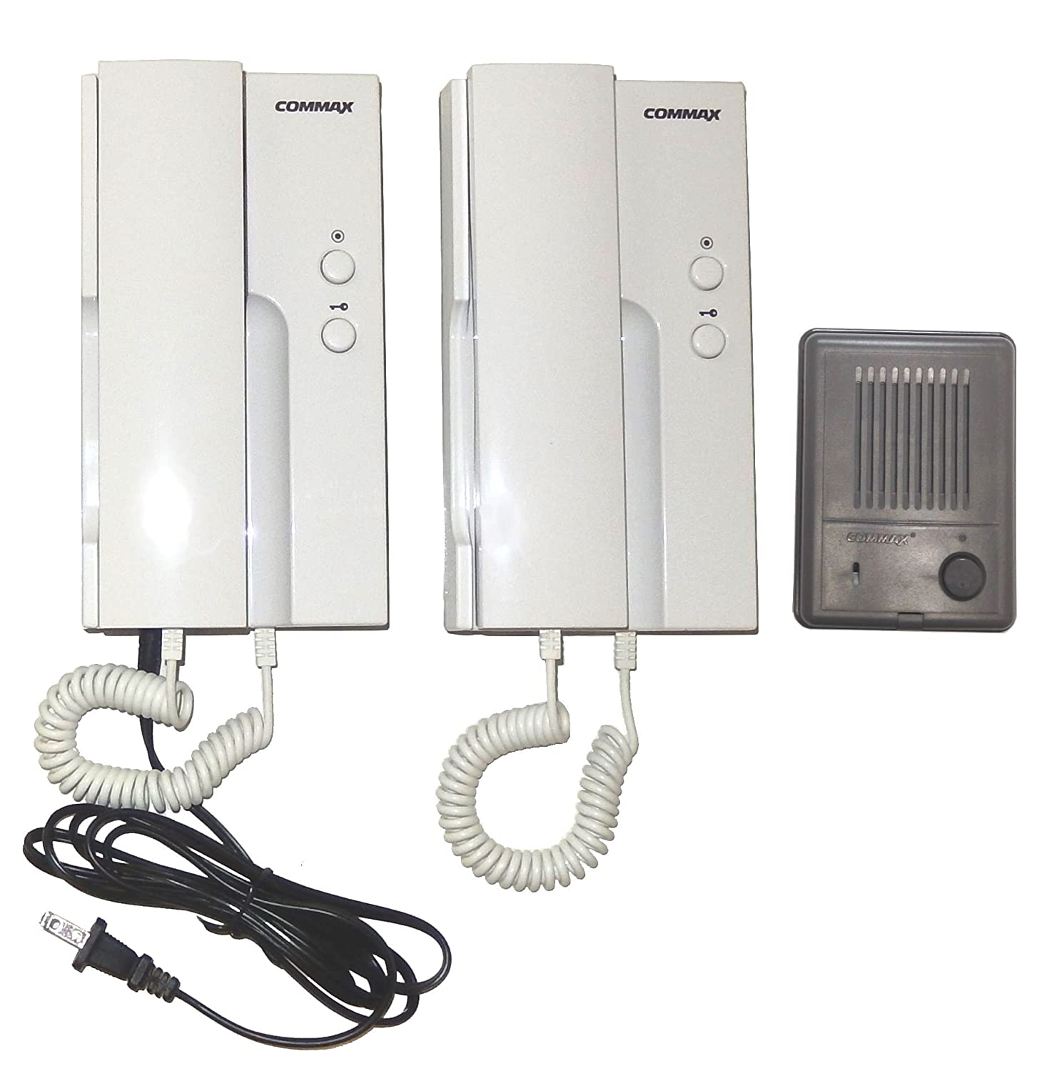 7166gKh3JFL._SL1500_ amazon com commax audio intercom system 2 to1 doorphones and commax audio intercom wiring diagram at aneh.co