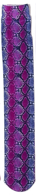 Ovation Zocks Boot Socks by B00HSJ1MFI 839 Pink Snake
