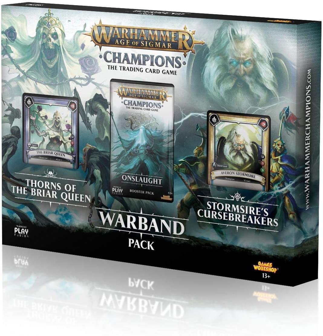WH Age of Sigmar Champions Warband Collectors Pack Series 1 Play Fusion New