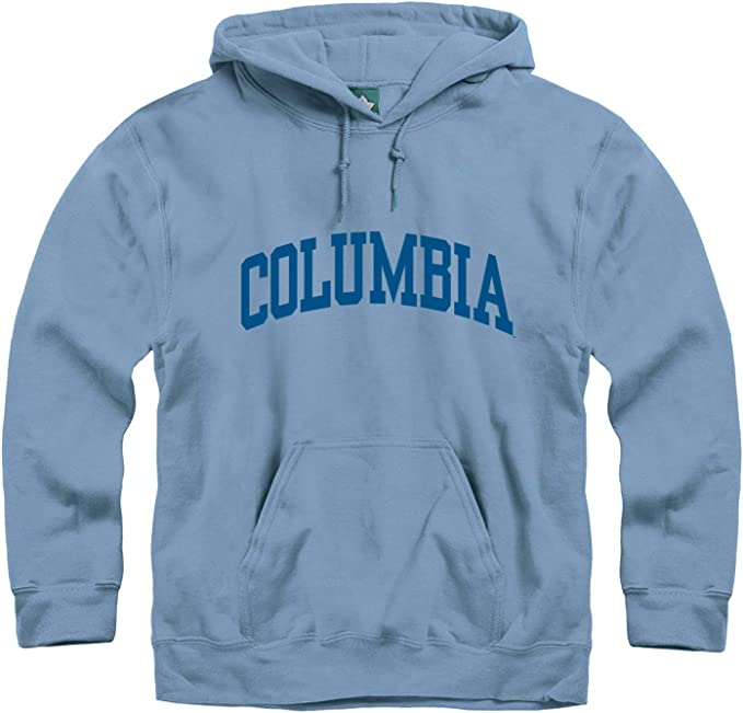 Ivysport Hooded Sweatshirt Heritage Logo Grey Cotton//Poly Blend NCAA Colleges and Universities