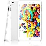 CHUWI Hi8 Pro Tablet PC Pantalla de 8 Pulgadas RAM 2GB+ ROM 32GB HD Resolución 1920*1200 Windows10 Android 5.1 Quad Core 1.44GHz WIFI Type-C Dual Cámara 2.0MP Color Blanco