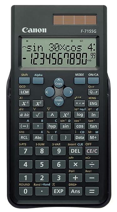 26 opinioni per Canon 5730B001 Calcolatrice Scientifica, Nero